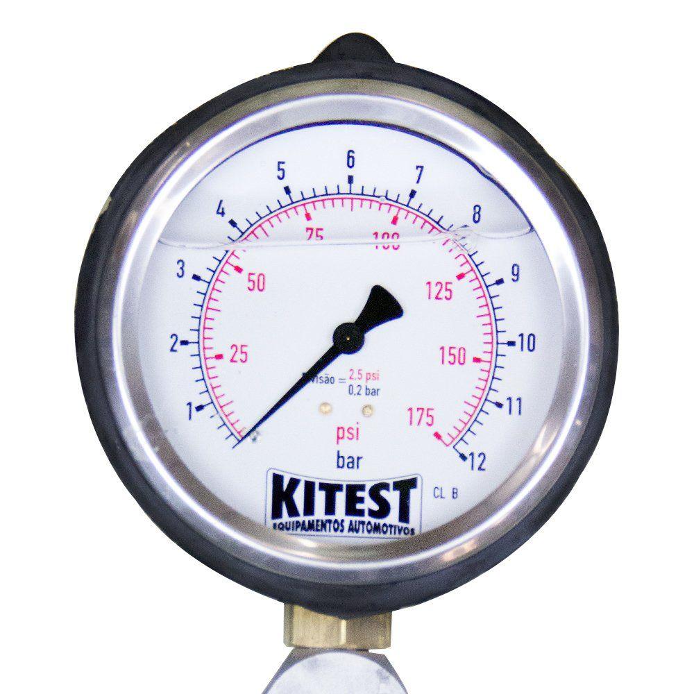 Teste de Pressão de Bomba de Combustível com 17 Mangueiras - KITEST KA015.17