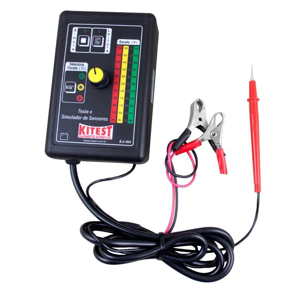 Teste e Simulador de Sensores - KITEST KA004