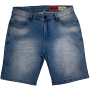 Bermuda Mcd Jeans Masculina Light Blue 12123409