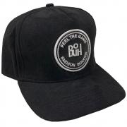 Boné Buh Fashion Soccer 3012 Suede Masculino Aba Curva 10097