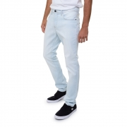 Calça Quiksilver Jeans Claro Delave Masculina