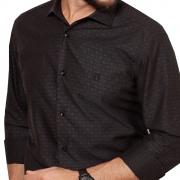 Camisa Baumgarten Social Manga Longa Slim Elegance 2334 Masculina