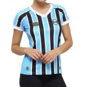 Camisa Grêmio Umbro tricolor Feminina