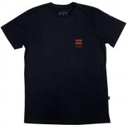 Camiseta Billabong Essential Preta Masculina 47151