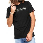 Camiseta Element Bump Preta unissex