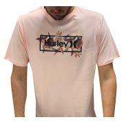 Camiseta Hurley Rosa 639009l42 masculina 63909