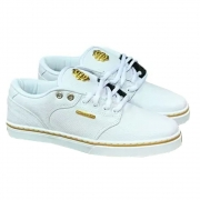 Tênis Hocks Montreal White/gold Branco Ouro Skate Original