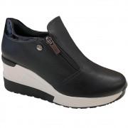 Tênis Quiz Sneaker Zíper 66-1852 Feminino