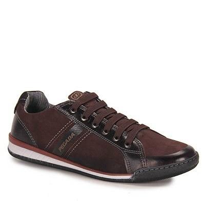Sapato Pegada masculino Couro  116903-06