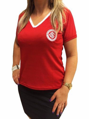 Camisa Baby Look Feminina Internacional Inter Oficial 81004