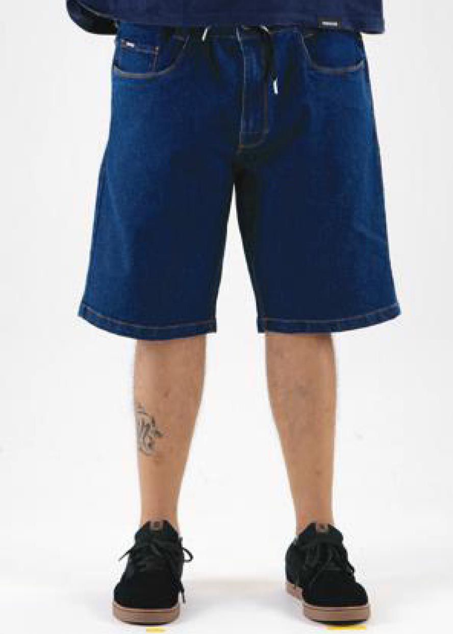 Bermuda Hocks 20-271 Jeans Original Masculina Tamanho Grande 50 e 52 SKY