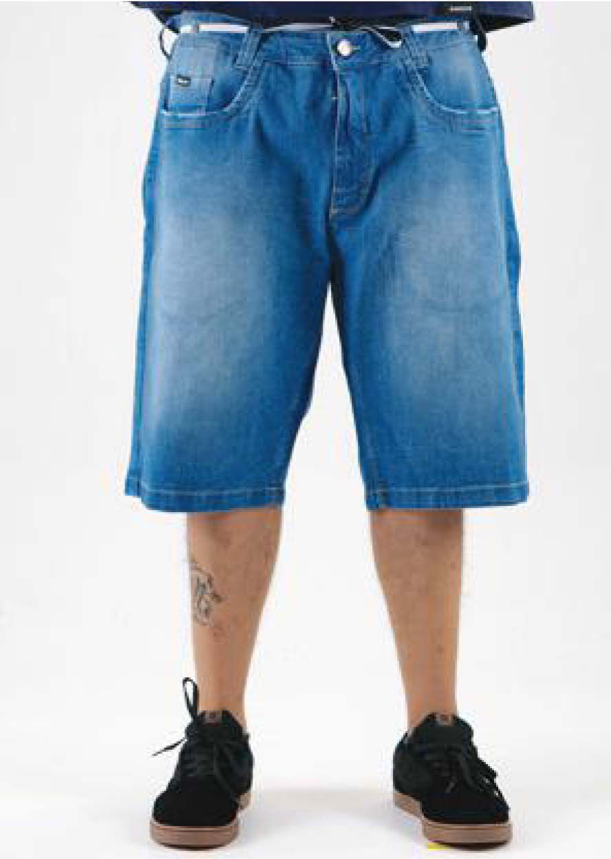Bermuda Hocks 20-274 Jeans Masculina Tamanho Grande 50 52 Venus
