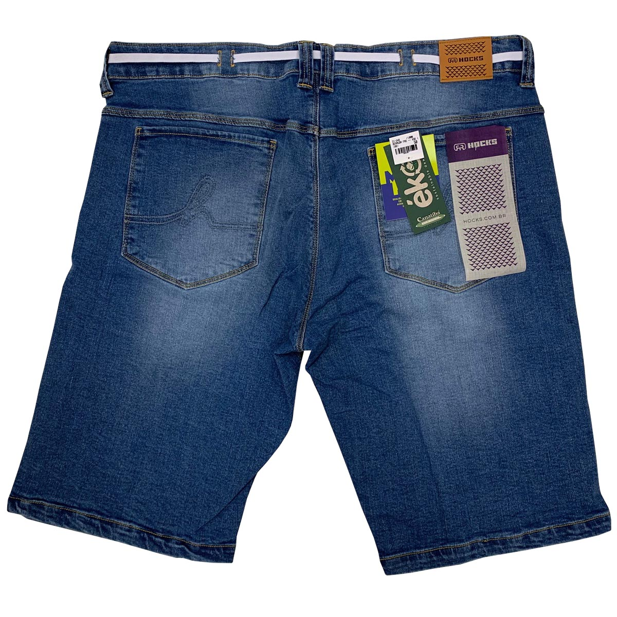 Bermuda Jeans Hocks Tamanhos Grandes 21-245 Masculina