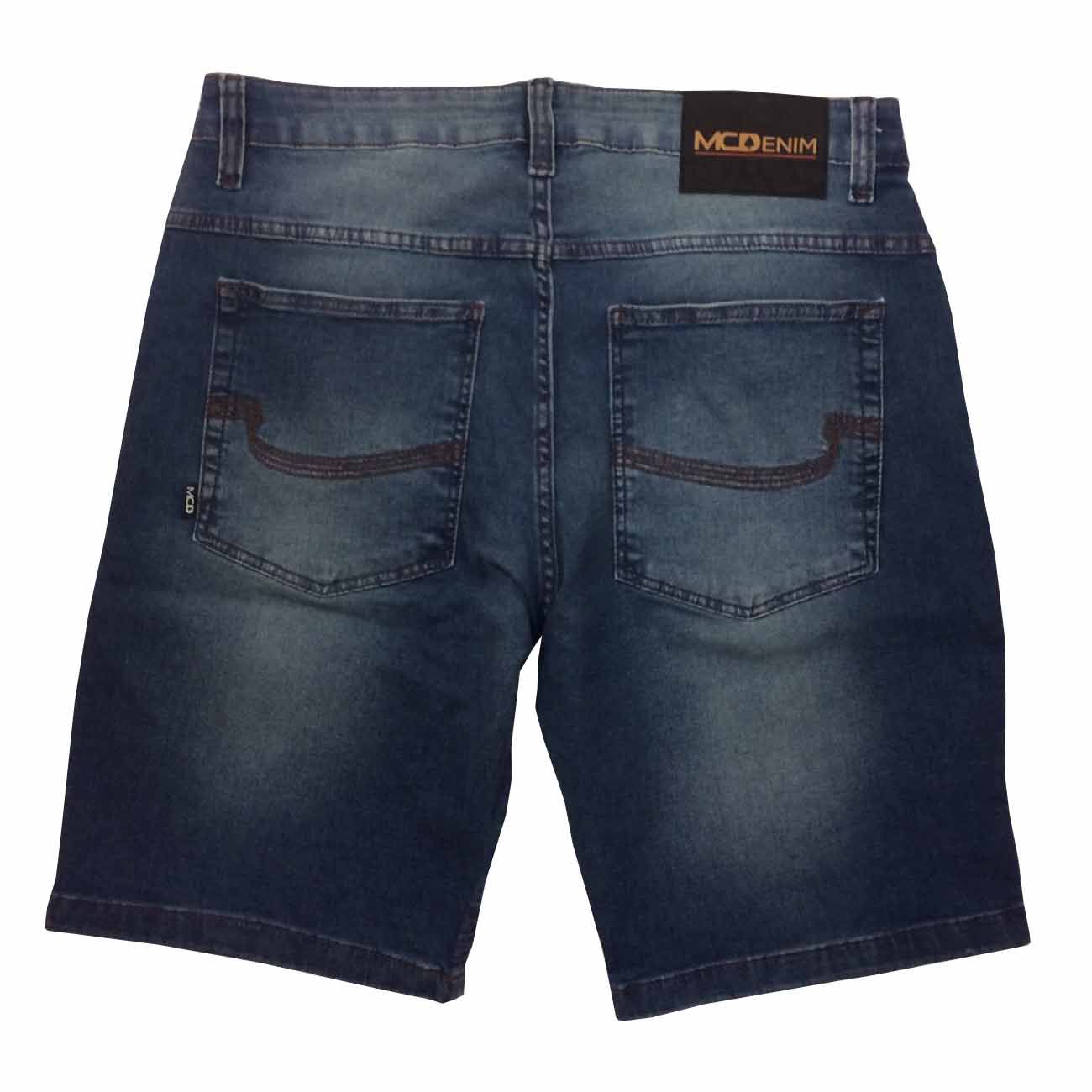 Bermuda Mcd Jeans New Slim Core 12023401 Masculina