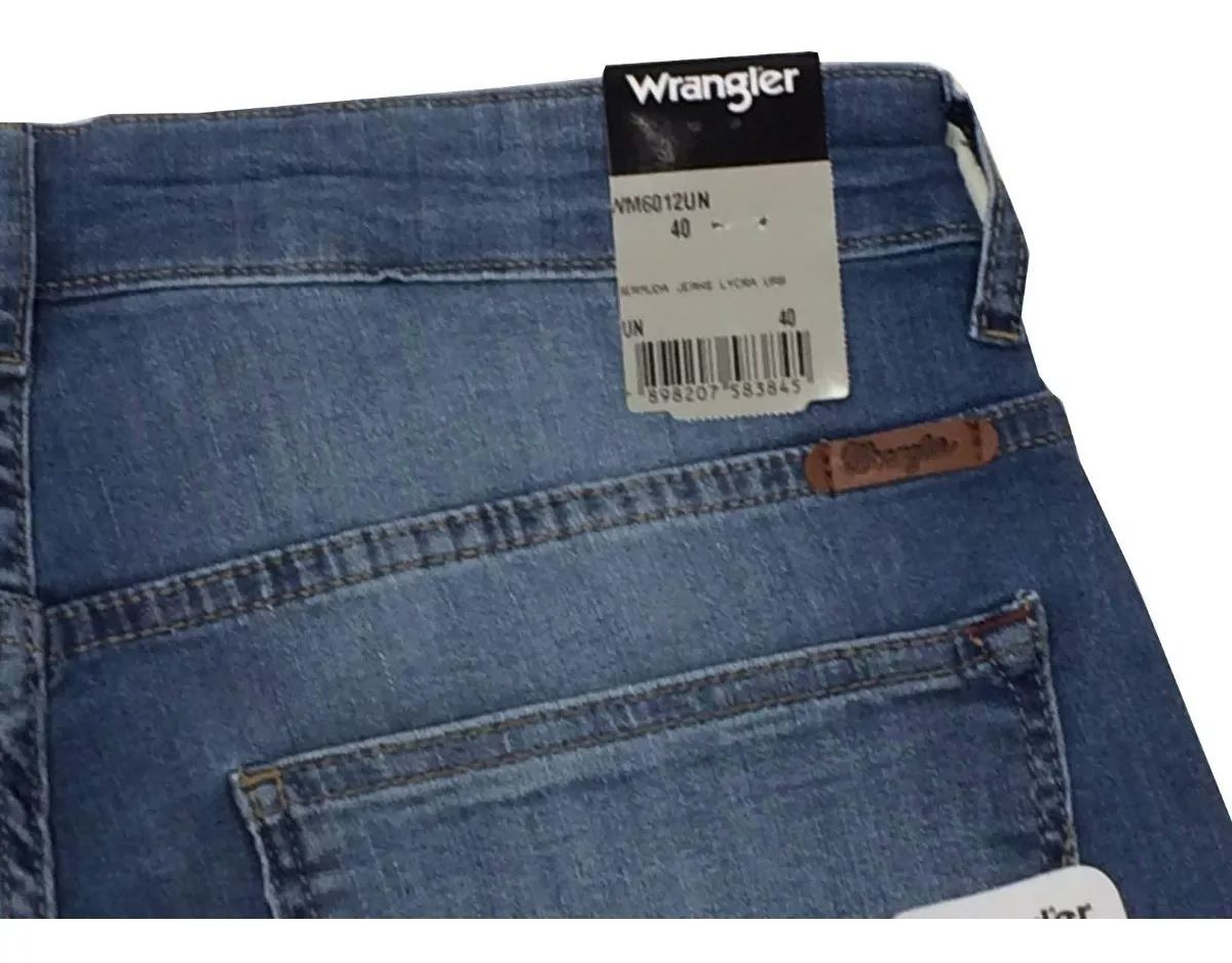 Bermuda Wrangler Jeans Claro Masculina Wm6012