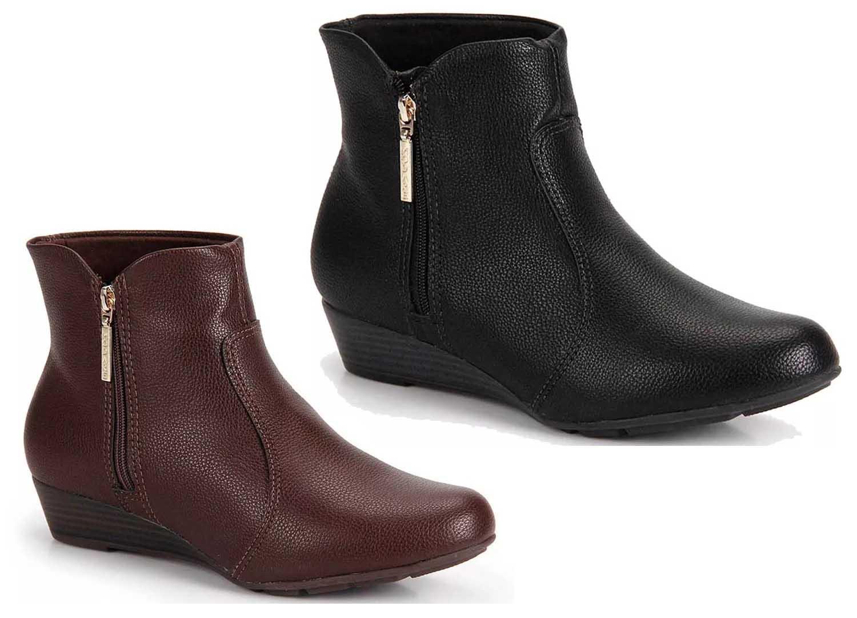 Bota Feminina Ankle Boots Conforto Modare 7048.211