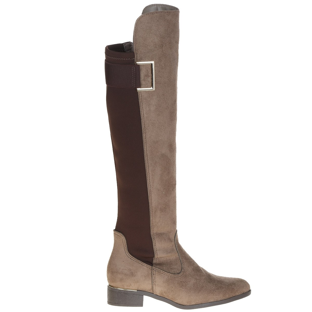 Bota Feminina Via Marte Over Knee 16-7202 marrom