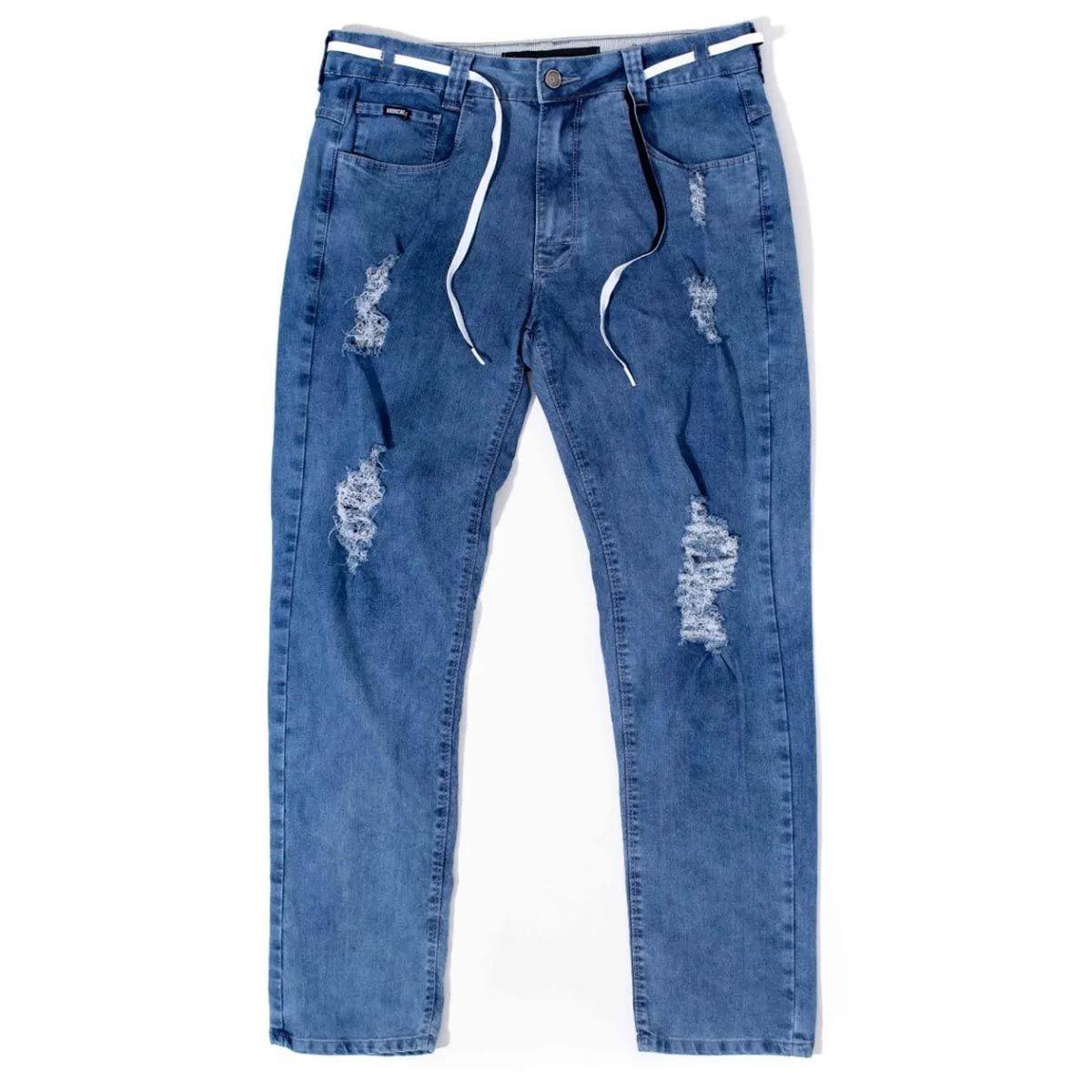 Calça Hocks 20-816 Jeans Masculina Smoking