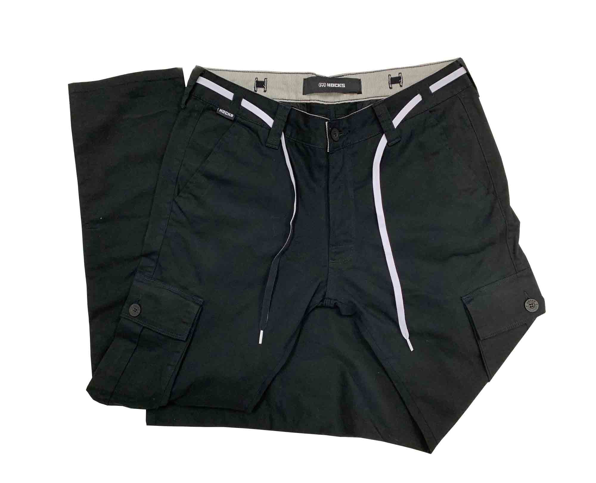 Calça Jeans Hocks 20-830 Masculina Cargo Bolsos