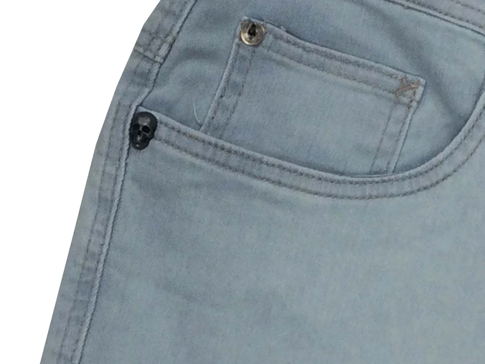 Calça Mcd Slim Sky Core 12023907 Jeans Claro Masculina