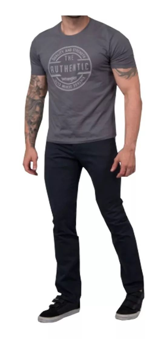 Calça Wrangler Jeans Masculina Wm3900 Preta