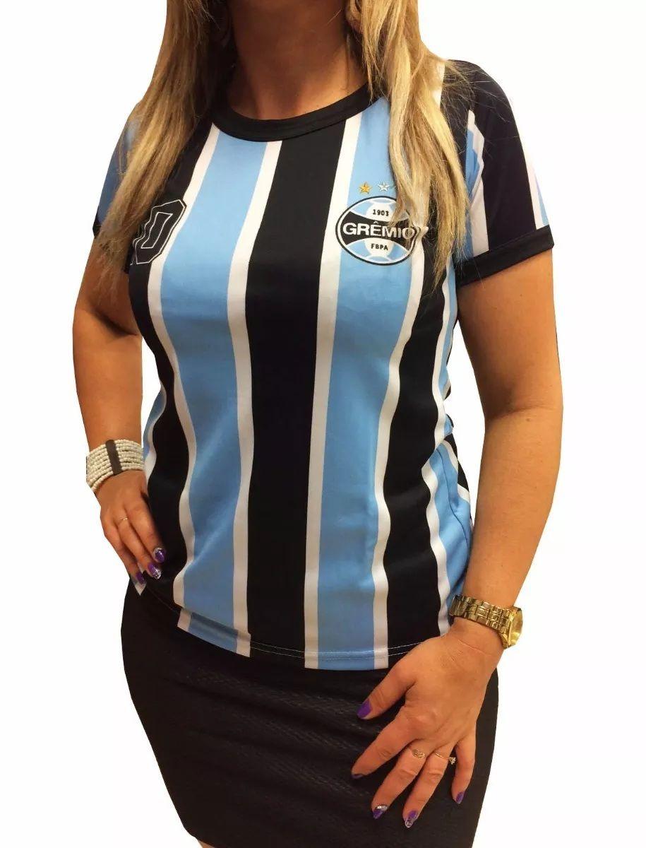 Camisa Feminina Grêmio Blusa 61008