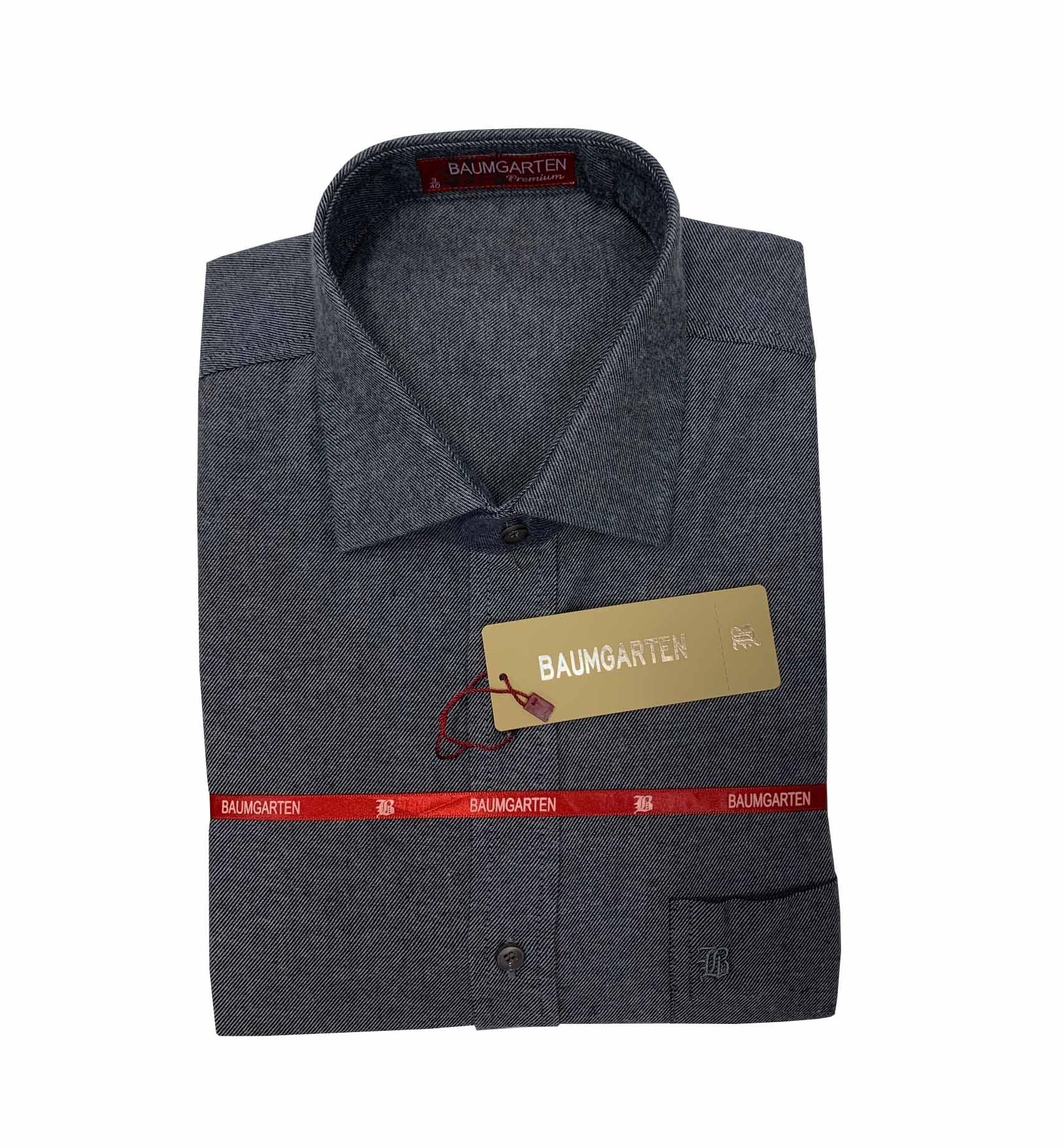 Camisa Baumgarten FLANELA Manga Longa Premium 3809 Masculina