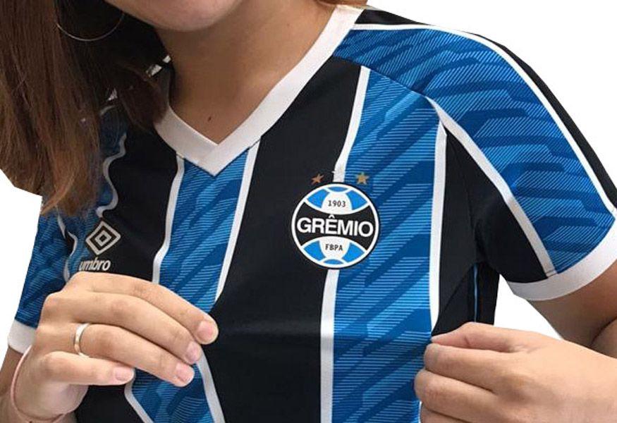Camisa Grêmio Feminina Baby Look 2020/21