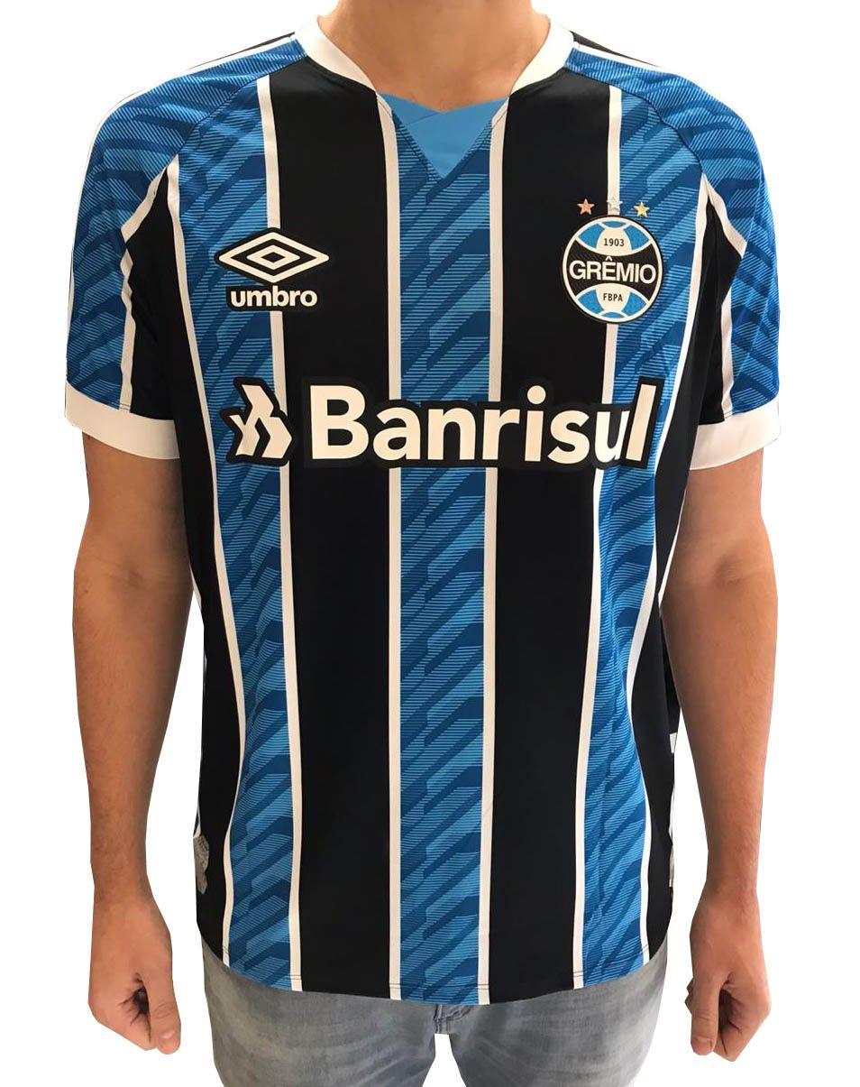 Camisa Grêmio Masculina Com Número 2020/21