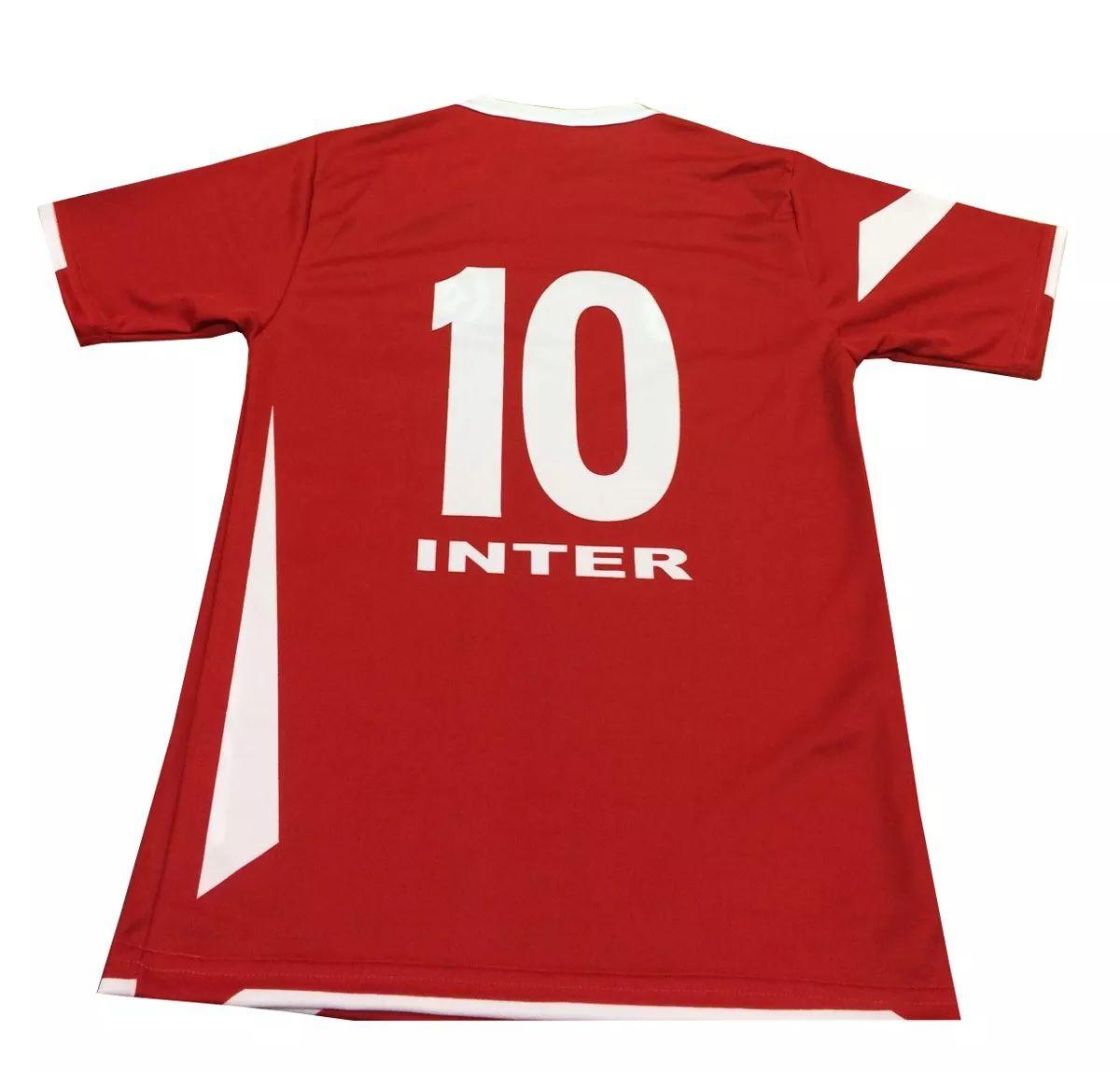 Camisa Internacional Infantil Oficial Placar 30041