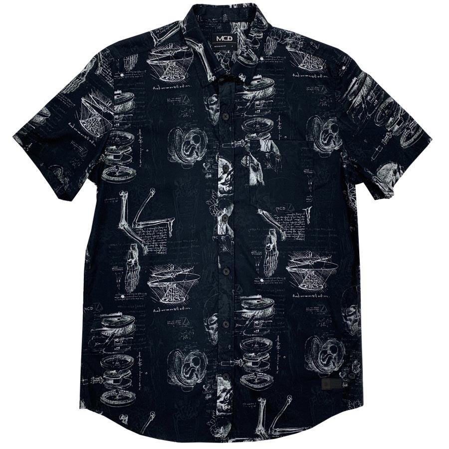 Camisa Mcd Da Vinci Manga Curta Botão 12024811
