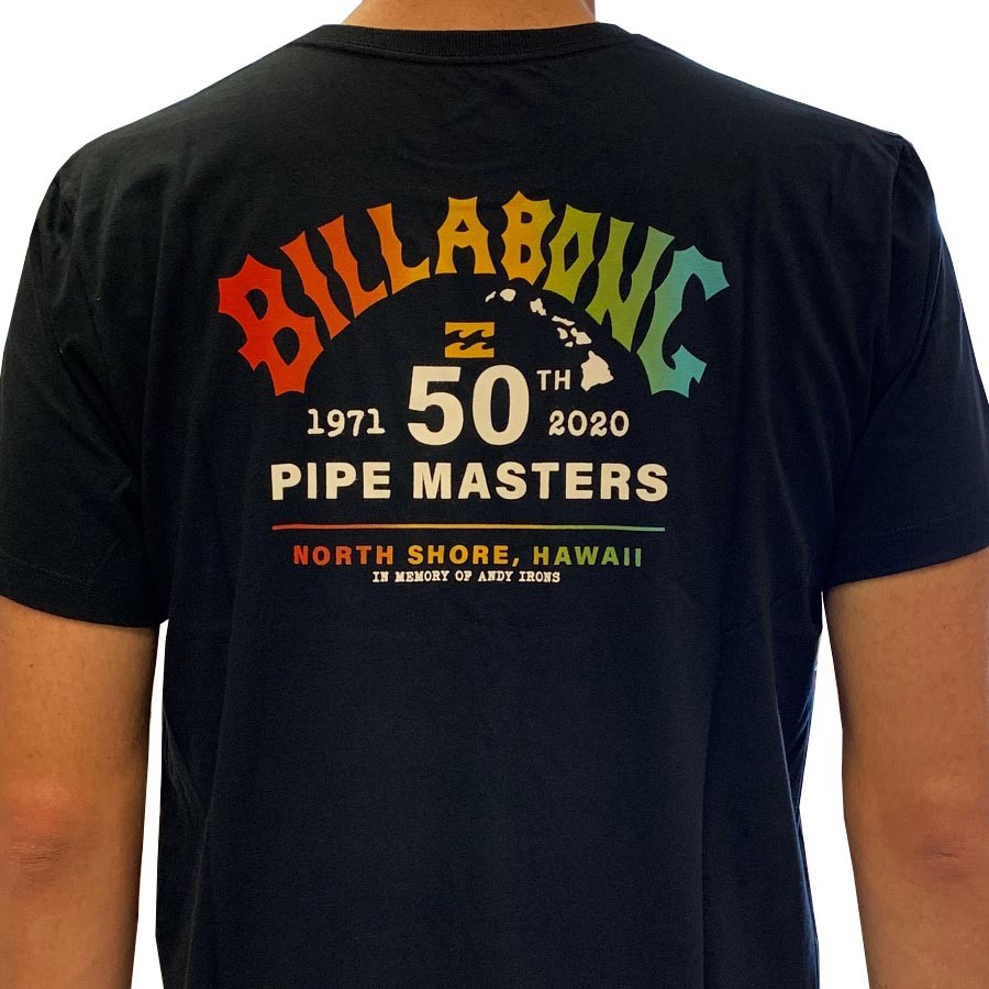 Camiseta Billabong Pipe Masters Masculina manga curta