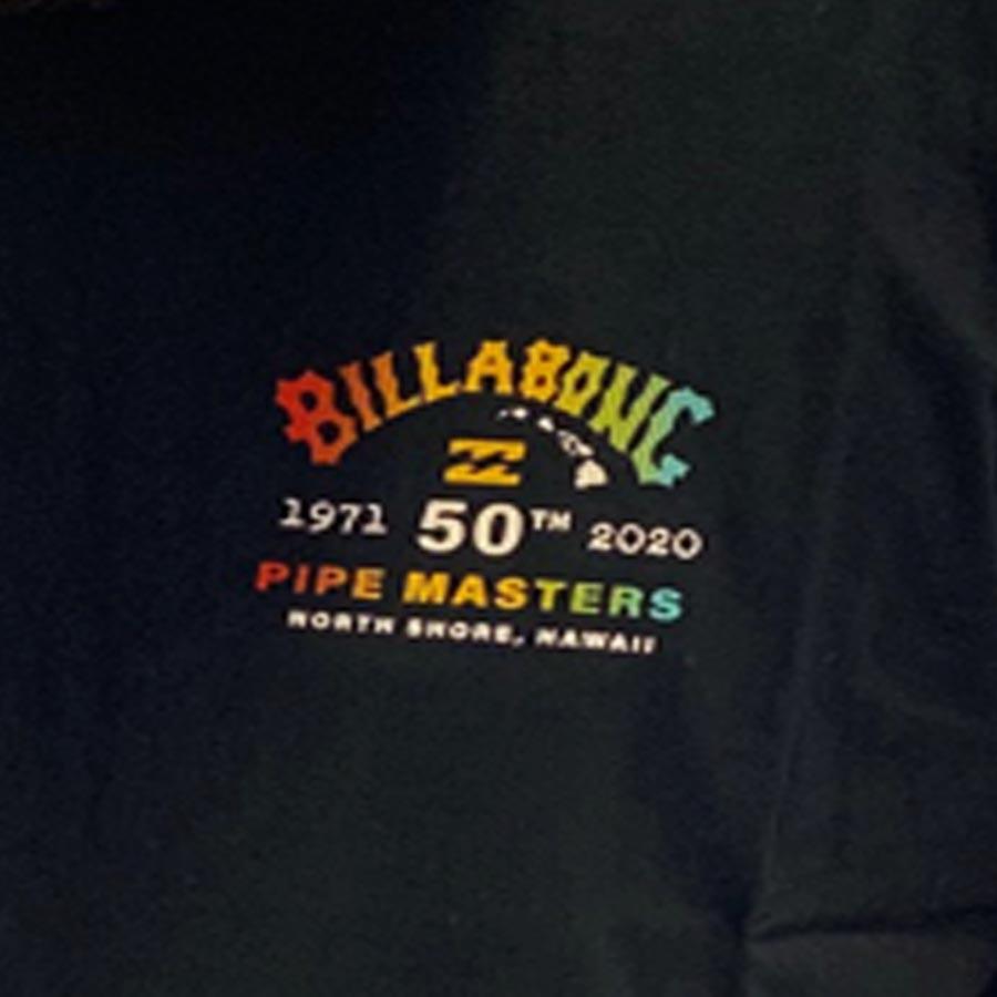 Camiseta Billabong Years Pipe Masters Masculina manga curta