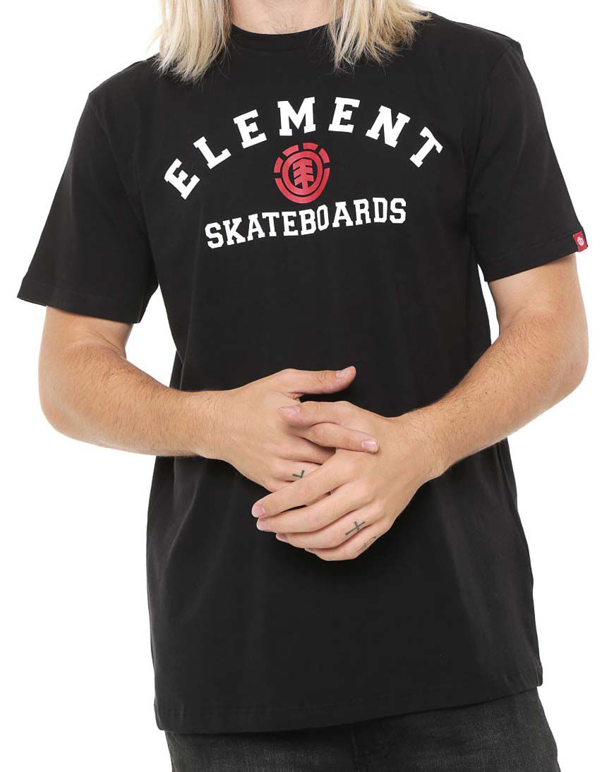 Camiseta Element For Life Preta unissex