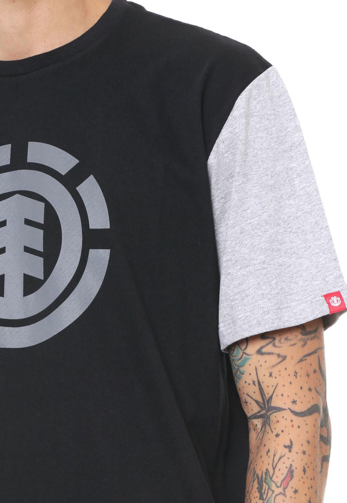 Camiseta Element Skate Block unissex