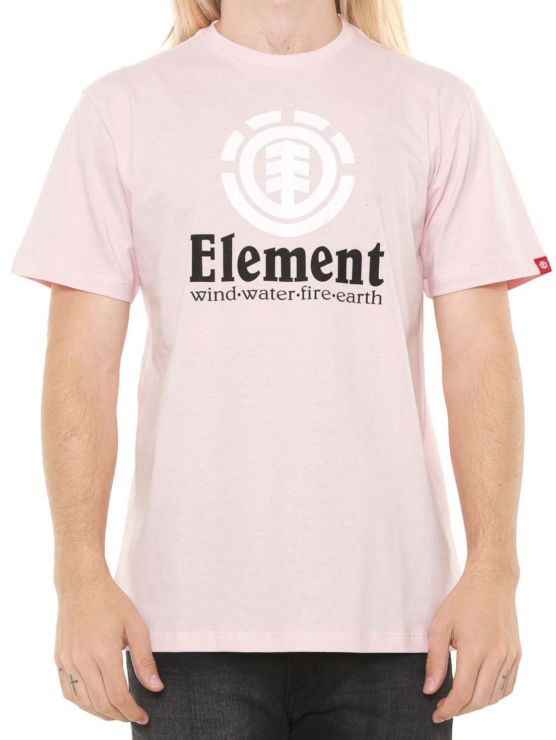 Camiseta Element Vertical Unissex Rosa