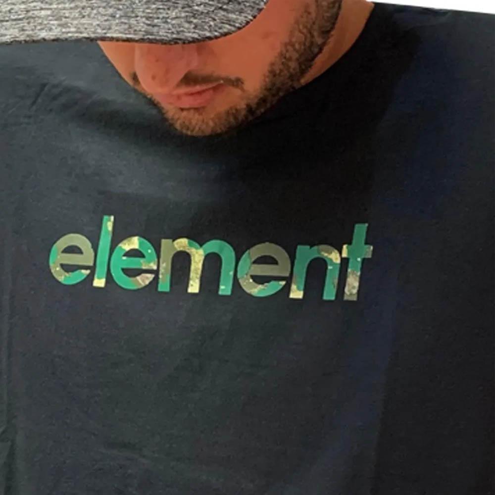 Camiseta Element Water Camo Mark Masculina