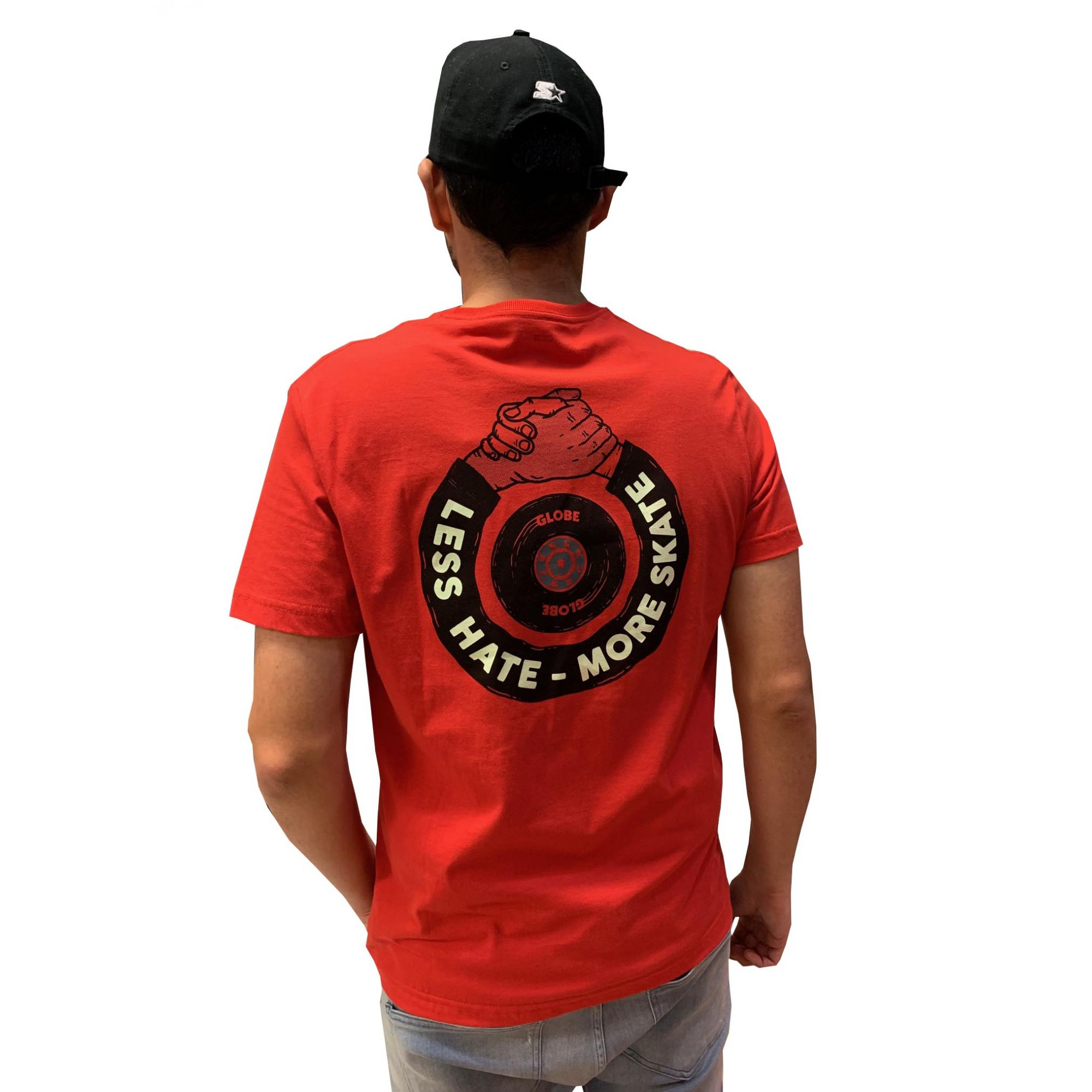 Camiseta Globe Less Hate Masculina 31912818 22818
