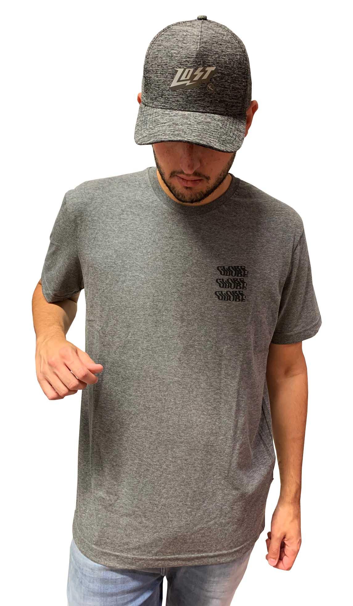Camiseta Globe Smile Now Cry Later Masculina 12806