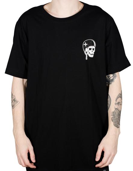 Camiseta Hocks Osso Preta Unissex 19502