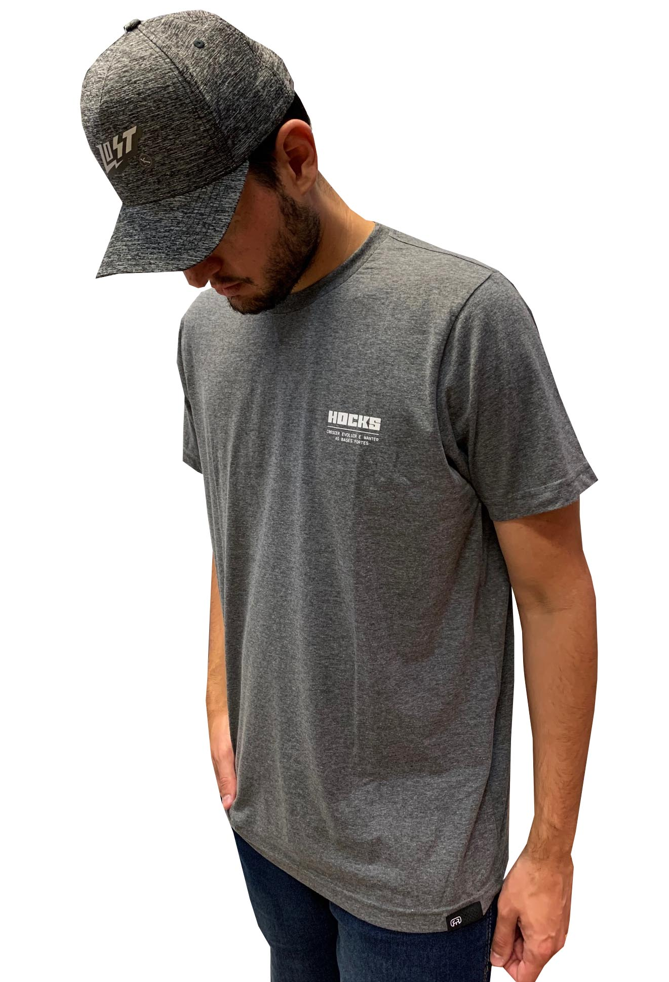 Camiseta Hocks Slogan H20075 Masculina 29504