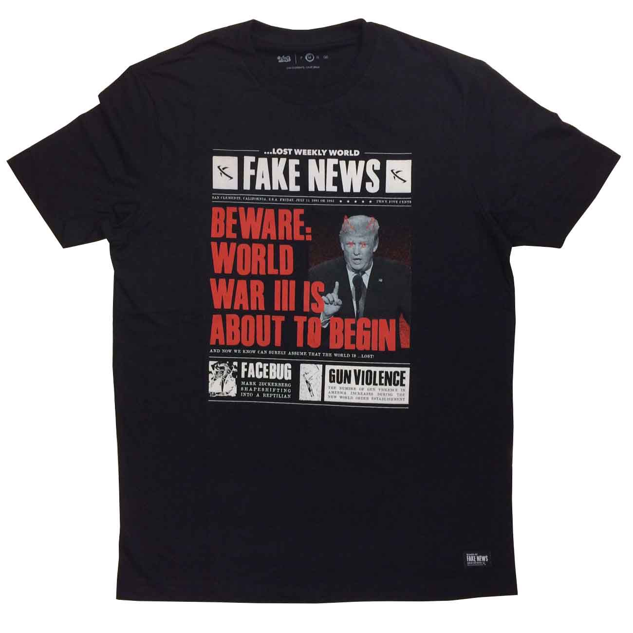 Camiseta Lost Fake News Trump 22022821 Masculina