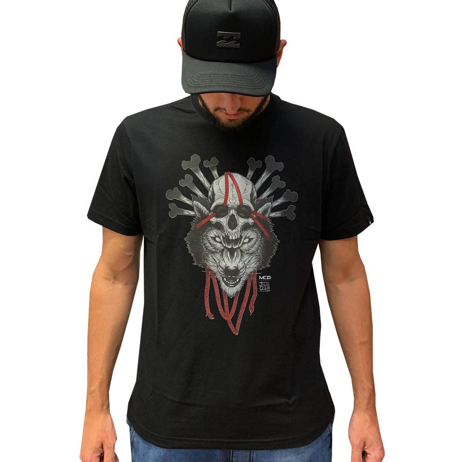 Camiseta Mcd Masculina 12122822 Wolf 32822