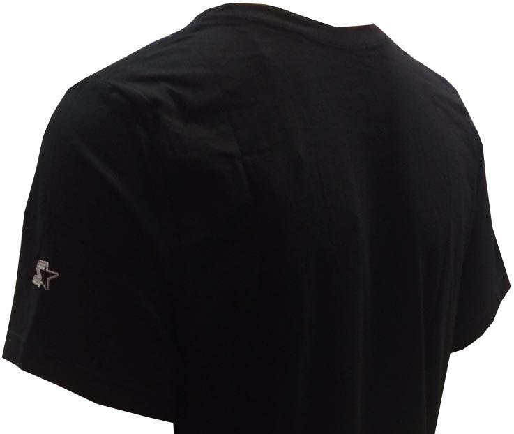 Camiseta Starter 3077C preto e cinza unissex