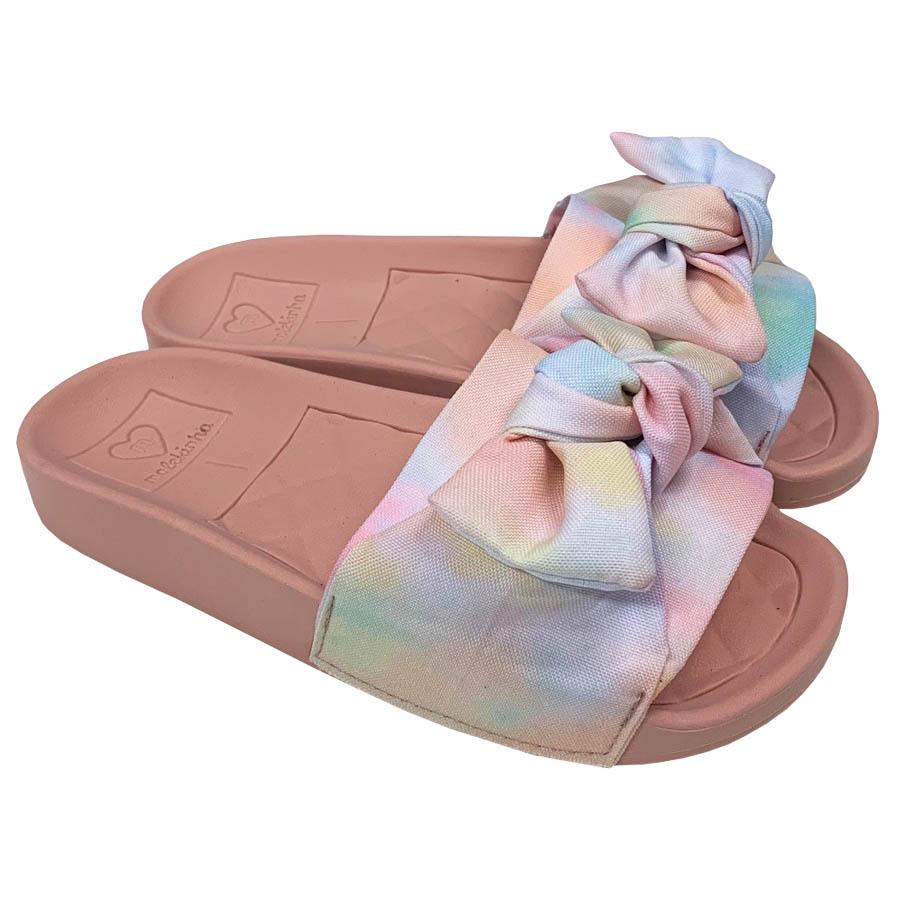 Chinelo Slide Molekinha Infantil Tie Dye 2311.103