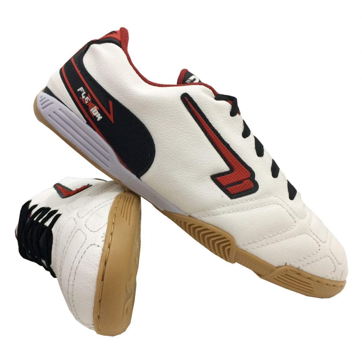 Chuteira Futsal Masculina Plakar 100% Couro - ATACADAONET e1b26dbb72bd5