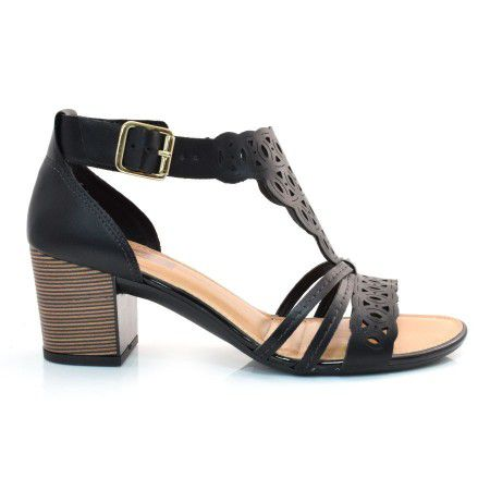 Sandália Feminina Dakota Z3474 Preto