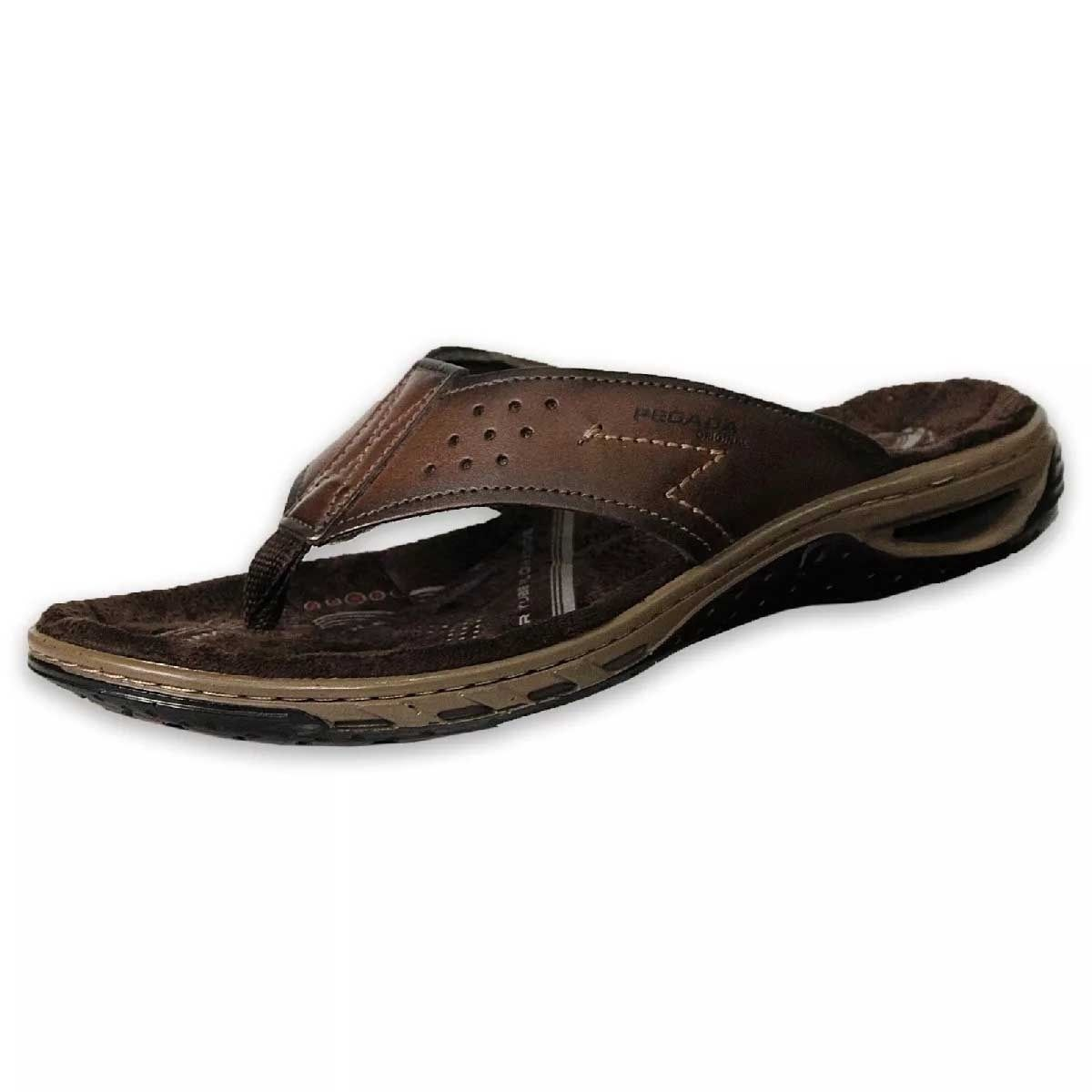 Sandália Chinelo masculino Pegada 131663 cravo