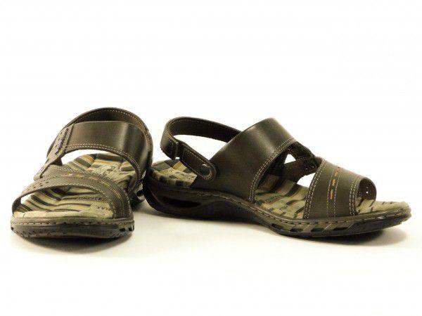 Sandália Masculina Pegada 31603-02 em Couro Cravo