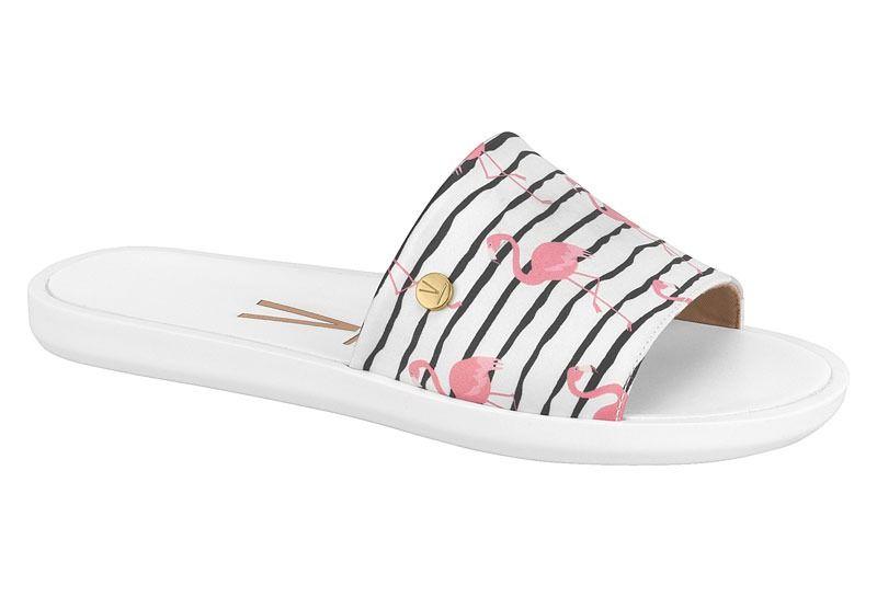Sandália Slide Vizzano 6363.105 Feminino 16363 branco flamingo